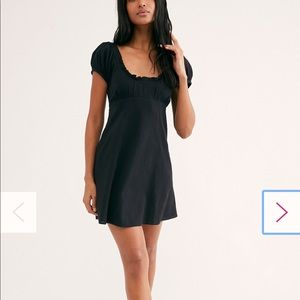 NWT Free people black dress